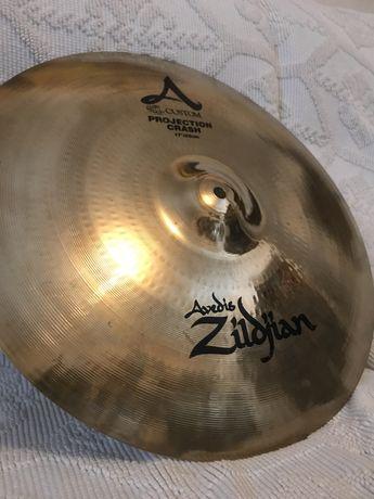 "Zildjian A Custom Projection Crash 17"""