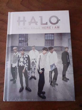 CD livro Halo 3rd Mini Álbum Here I am  kpop