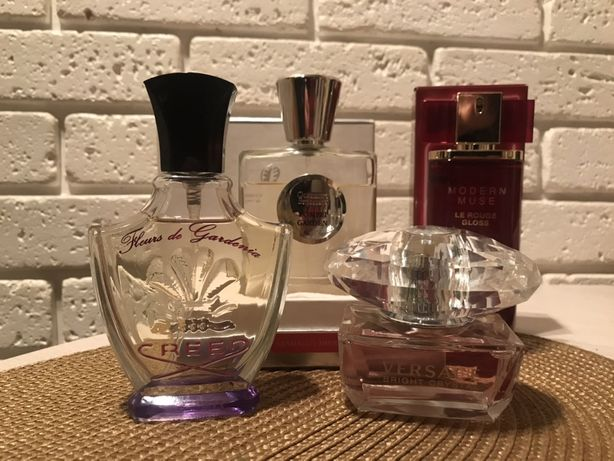 Creed, Estée Lauder, Versace