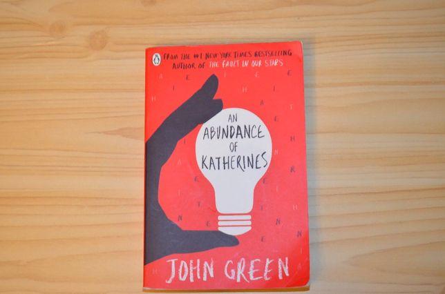 An Abundance of Katherines by John Green, книга на английском