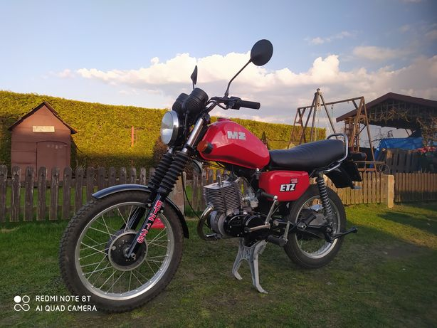 Motocykl Mz etz 125