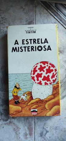 Conjunto Cassestes VHS Tintim, Looney Tunes, Harry Potter
