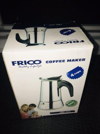 Гейзерная кофеварка  в хорошем состоянии+кофемолка=500грн