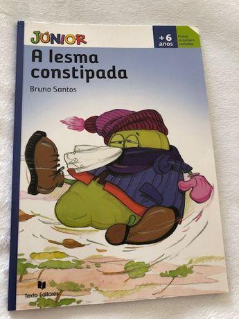 Livro - A Lesma Constipada de Bruno Santos
