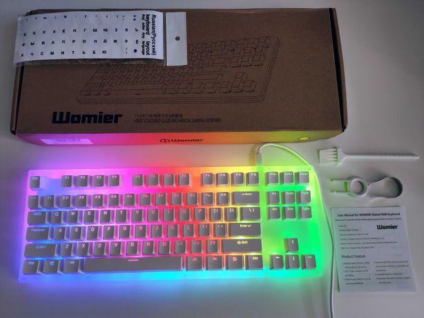 GamaKay (Womier) K87 Механическая Игровая Клавиатура на Gateron Свичах