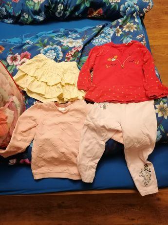 mega paka ubranek dla dziewczynki rozmiar  92 98