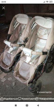 Продам коляску для двійні