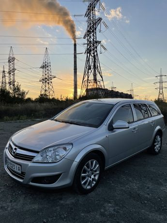 Opel astra h 2009 125 к/с