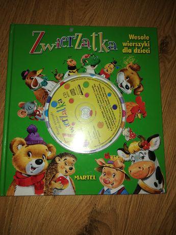 Zwierzątka. Wesołe wierszyki dla dzieci +płyta CD