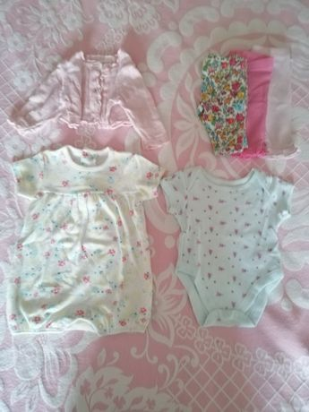 Lote de roupa de bebé - 6 peças
