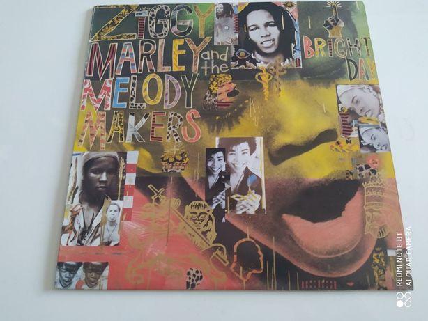 "Płyta winylowe-winyl Ziggy Marley and Melody Makers ""Bright Day '1989"