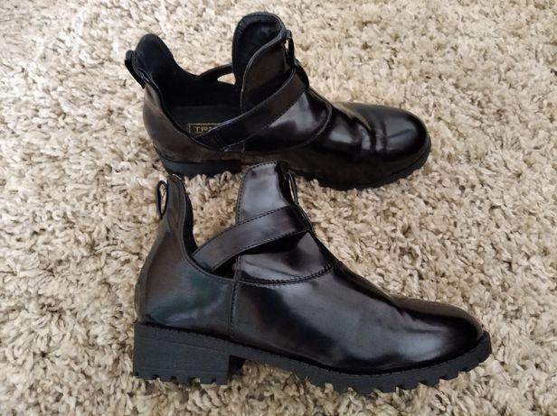 Новые высокие туфли,мини ботинки,р.36-37