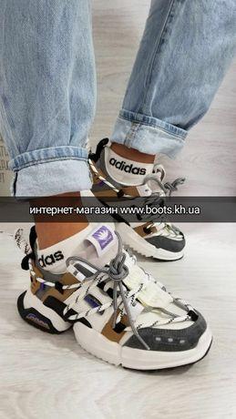 Женские кроссовки со шнуровкой в стиле Calvin C базовые массивные
