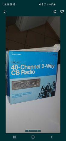 nowe cb radio realistic, 40 kanałów   nowe cb radio realistic, 40 kana
