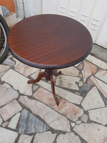 Movel de apoio madeira antigo 48x57cm