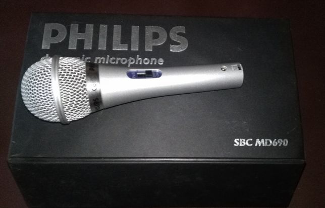 Philips SBC MD690 XLR mikrofon dynamiczny