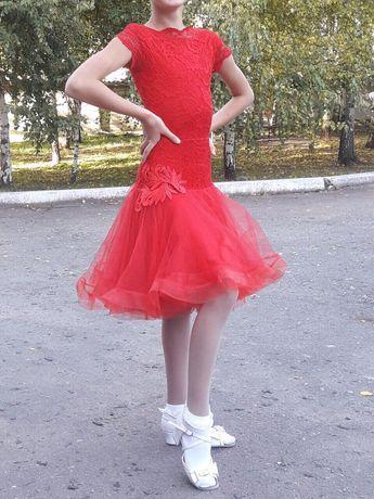 Продам платье для бальных танцев Очень красивое Срочно