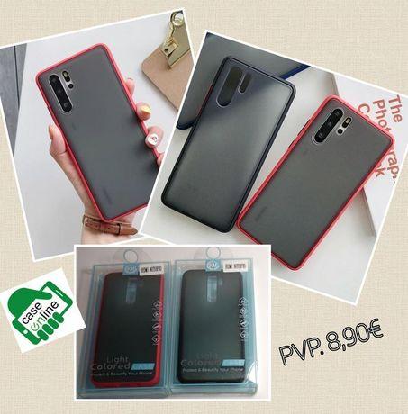 Capa Xiaomi Redmi Note 8 Pró/ 9A /Mi 9T /Mi 9T Pró /K20 -Efeito Smoked