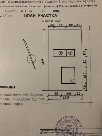 Продам земельний участок 0,11 га