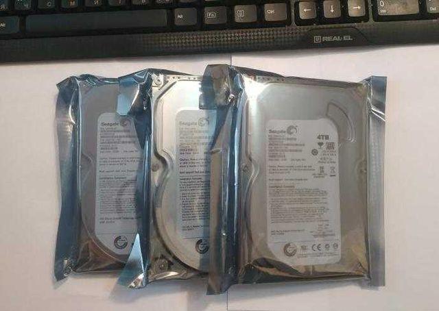 Жесткий диск Seagate 4TB ДИСКИ НОВЫЕ