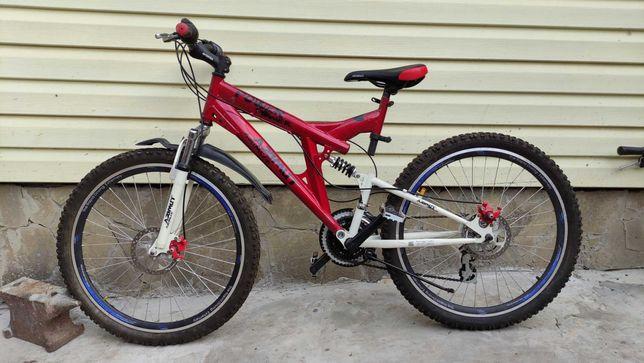 Двухподвесный велосипед AZIMUT 26