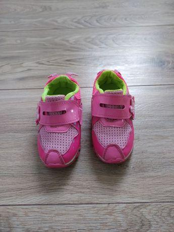 Buty sportowe adidasy na rzep różowe 25 ATM
