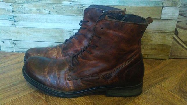 Кожаные ботинки Jack & Jones.