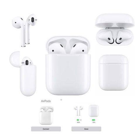 AirPods Q2 Słuchawki Bezprzewodowe Bluetooth 5.0 Powerbank iPhone iOS