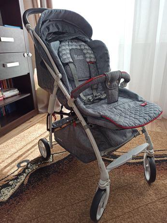 Lekki wózek spacerowy Adamex Quatro Lion