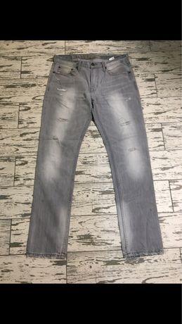 Чоловічі джинси сірі American Eagle 32 33 розмір США Оригінал