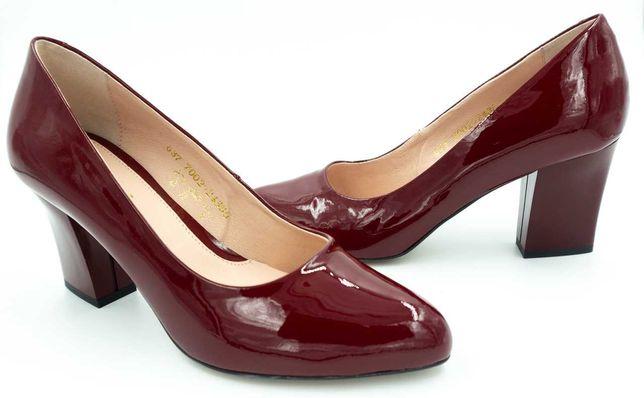 Элегантные классические туфли Best But  Польша 37 р кожа лак