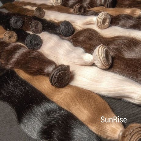 NA Taśmie - Włosy naturalne, słowiańskie 30 cm - 110 cm