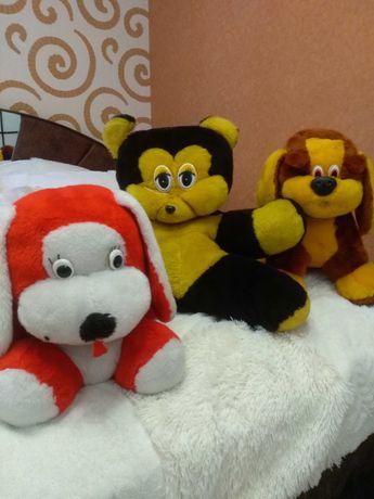 Мягкие игрушки 3шт