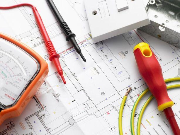 Elektryk, upr. SEP, pomiary, oświadczenie PGE, instalacje elektryczne