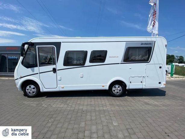 Kamper - wypożyczalnia Detheffs Globebus INTEGRA wynajem kamperów