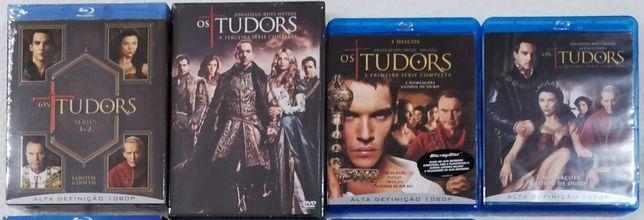 Blu ray-Os TUDORS
