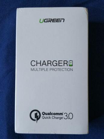 Ładowarka Ugreen Quick Charge 3.0, dwa porty USB