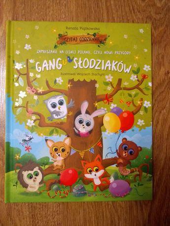Książka zamieszanie na leśnej polanie, nowe przygody gangu słodziaków