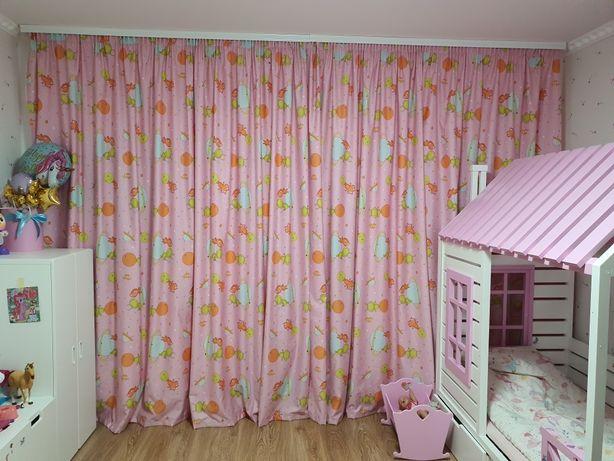 Детские шторы для девочки