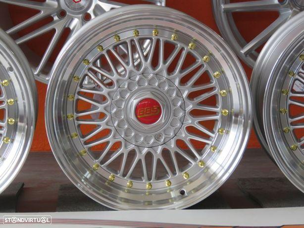 Jantes Japan Racing JR9 17 x 8.5 et 35 5x100 e 5x114.3 Silver