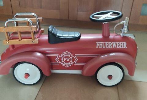 Jeździk wóz strażacki Knorr dla dziecka 1 - 3 lata