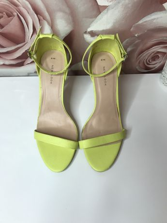 Sandały limonka New Look 41