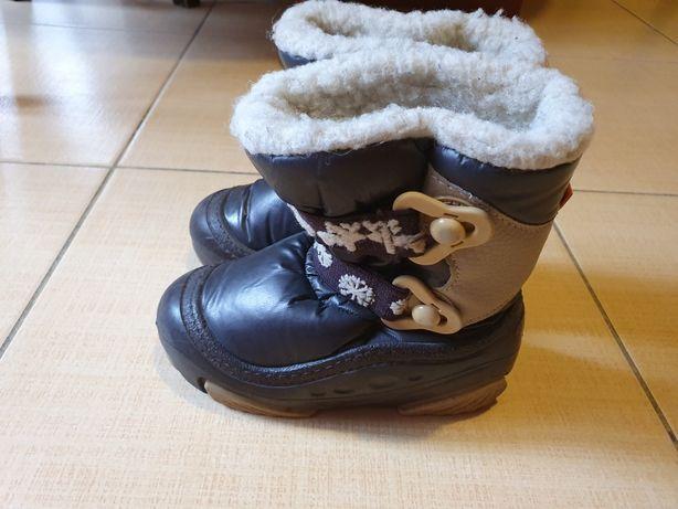 Ботинки для мальчика, сапоги зимние 24-25 размер Demar 16 см