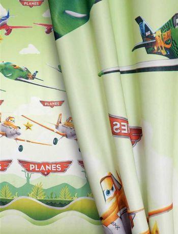 Zasłona na okno dziecięca Planes Samoloty 150x270cm nowa