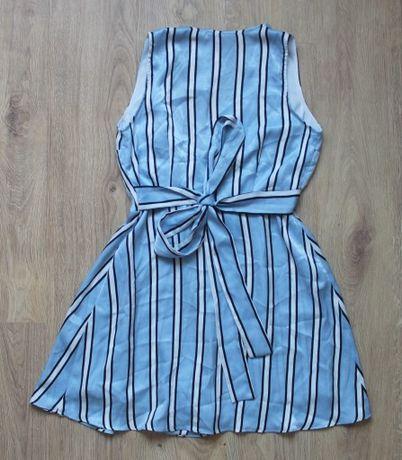 nowy kombinezon sukienka Orsay paski błękitny 40