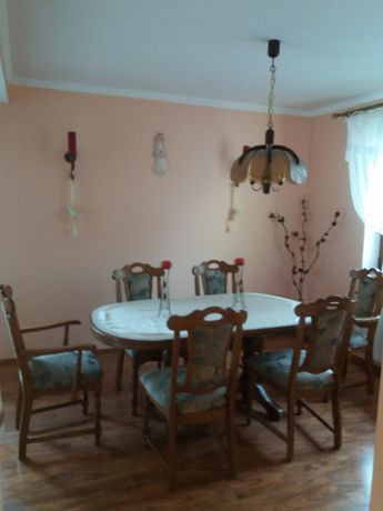 Stół dębowy+6krzeseł holenderski!