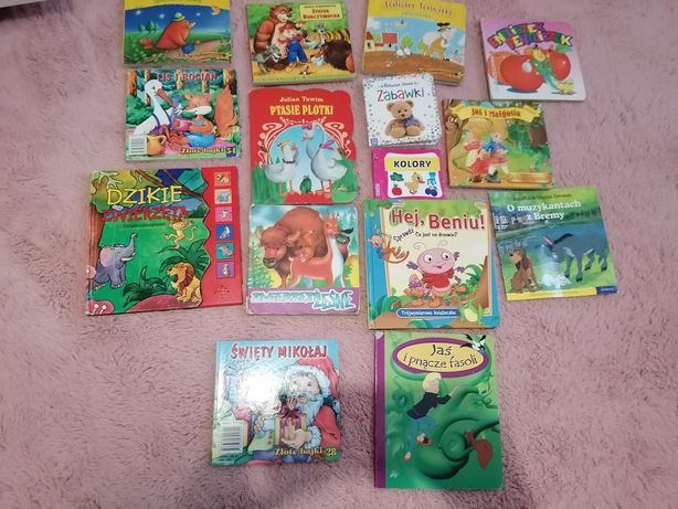 Książki 15 szt. Dla Dzieci