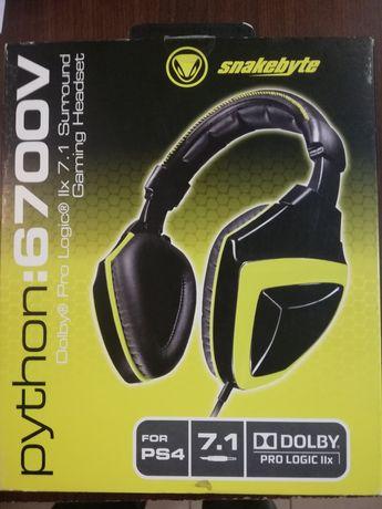 Słuchawki PS4 SnakeByte Python 6700V