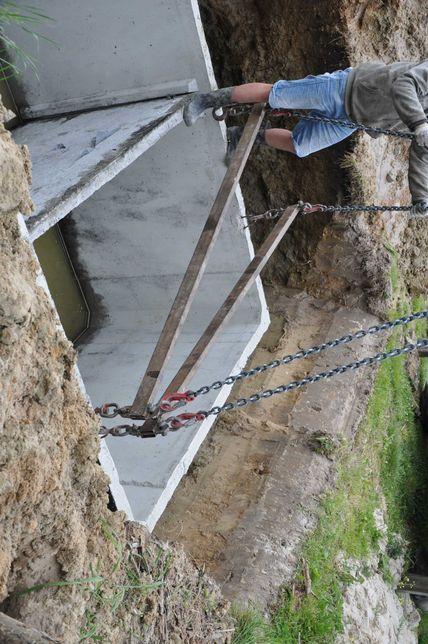 Zbiornik betonowe gnojówkę gnojownicę ścieki odchody studnie