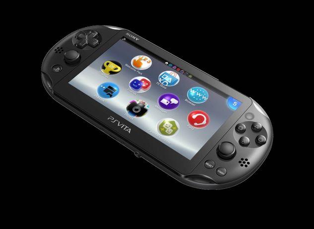 Idealna PS Vita Slim PCH-2016 henkaku 32gb + 8gb